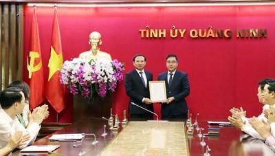 Quảng Ninh: Bổ nhiệm Chánh Văn phòng Tỉnh ủy và Giám đốc Sở NN&PTNT