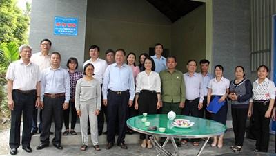 Quảng Ninh: Bàn giao 31 nhà tình thương cho người khuyết tật.