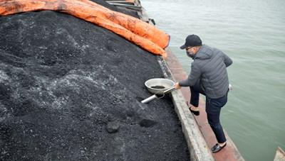 Quảng Ninh: Tạm giữ tàu chở 850 tấn than không rõ nguồn gốc
