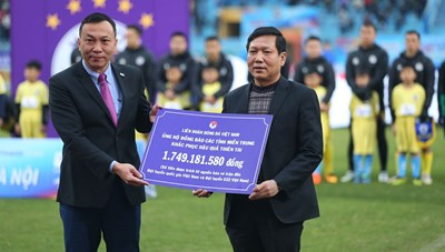 MTTQ VN tiếp nhận trên 1,7 tỉ đồng hỗ trợ đồng bào miền Trung và Tây Nguyên từ VFF