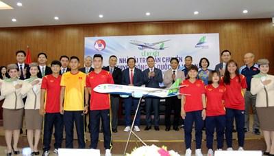 Tuyển Việt Nam sẽ bay bằng chuyên cơ riêng sang UAE dự vòng loại World Cup 2022