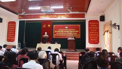 Quảng Trị: Tổ chức hội nghị hiệp thương lần thứ nhất