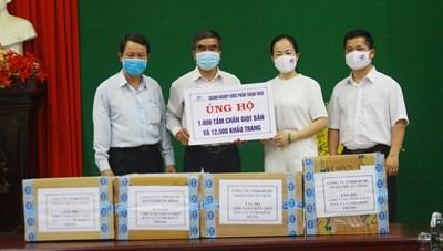 Công ty dược phẩm Thuận Thảo và HBI ủng hộ phòng, chống dịch