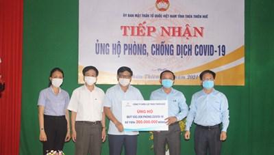 Điện lực Thừa Thiên – Huế ủng hộ 260 triệu đồng Quỹ Vaccine phòng Covid-19
