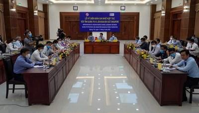 Chuyên gia Singapore sẽ hỗ trợ nghiên cứu, xây dựng quy hoạch tỉnh Quảng Trị