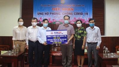 Quảng Trị: Tiếp nhận hơn 600 tấn hàng hoá ủng hộ TP Hồ Chí Minh và các tỉnh phía Nam