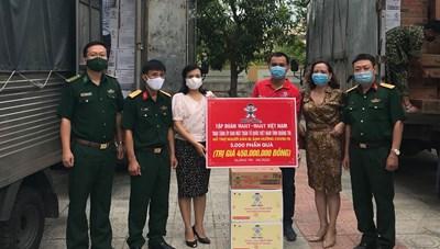 Quảng Trị : Tập đoàn Want Want Việt Nam ủng hộ người dân bị ảnh hưởng bởi dịch Covid-19