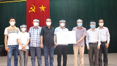 Quảng Trị: CLB yêu hoa lan đột biến Sông Hàn ủng hộ 1,5 tỷ đồng phòng, chống dịch Covid-19