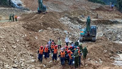 Tìm thấy thi thể công nhân mất tích dưới lòng sông Rào Trăng