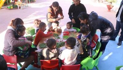 Cô giáo người Mông vượt khó, gắn bó với trẻ