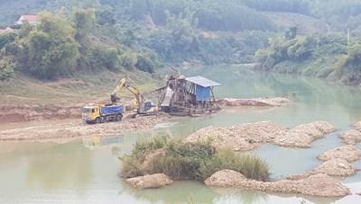 Khai thác khoáng sản ở Bắc Giang, đủ căn cứ sẽ xử lý hình sự để răn đe