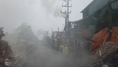 Xả nước thải vượt quy chuẩn, 6 cơ sở làm giấy ở Phong Khê bị đình chỉ 9 tháng