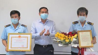 Bí thư Thành ủy Hà Nội khen Cục Hải quan có thành tích phá đường dây ma túy