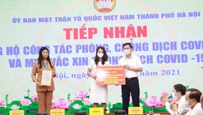 Hà Nội kêu gọi ủng hộ kinh phí mua vaccine phòng Covid-19