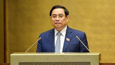 Giới thiệu ông Phạm Minh Chính để bầu làm Thủ tướng Chính phủ
