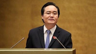 Bộ trưởng Phùng Xuân Nhạ nói về sách Tiếng Việt lớp 1 của Bộ sách Cánh Diều