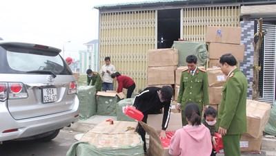Quảng Nam: Phát hiện nhiều hàng hóa không có nguồn gốc xuất xứ
