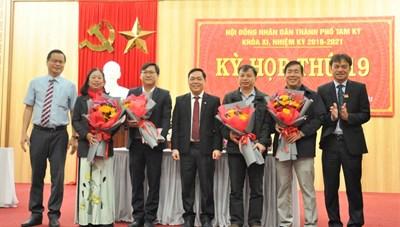 Quảng Nam: Ông Trần Trung Hậu được bầu giữ chức Phó Chủ tịch UBND TP Tam Kỳ