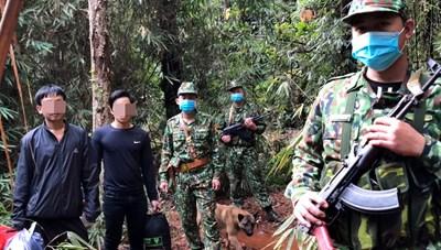 Quảng Nam: Phát hiện 2 người nhập cảnh trái phép từ Lào