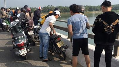 Quảng Nam: Tìm thấy thi thể nam thanh niên nhảy cầu Câu Lâu tự tử