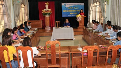 Quảng Nam: Họp báo về Đại hội đại biểu Phụ nữ tỉnh lần thứ XIV