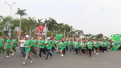 Quảng Nam: 5.000 người tham gia Ngày chạy Olympic vì sức khỏe toàn dân