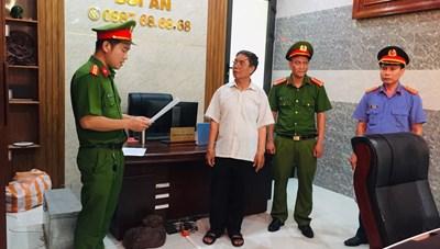 Quảng nam: Bắt Trưởng phòng công chứng gây hậu quả nghiêm trọng