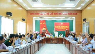 Quảng Ngãi: 10 người xin thôi ứng cử đại biểu HĐND tỉnh