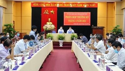 Từ trưa nay, Quảng Ngãi áp dụng biện pháp phòng, chống dịch theo Chỉ thị số 15