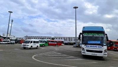 Quảng Ngãi: Tạm dừng vận tải hành khách đến địa phương có dịch Covid-19