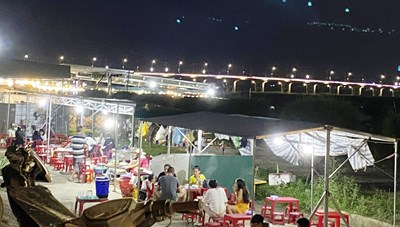 Quảng Ngãi: Đóng cửa chợ đêm vì thành phố nhậu