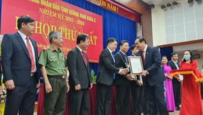 Quảng Nam: Bí thư Tỉnh ủy giữ chức Chủ tịch HĐND tỉnh khóa X