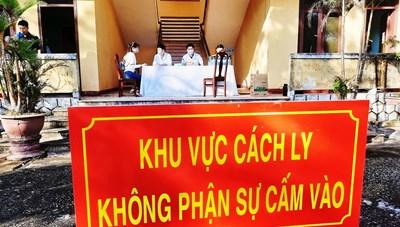 Quảng Nam: Thu phí đối với các trường hợp cách ly tập trung tại TP Tam Kỳ