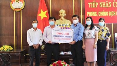 Quảng Nam: TP Hội An ủng hộ quỹ vaccine 1 tỷ đồng
