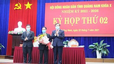Chánh văn phòng UBND tỉnh Quảng Nam giữ chức Phó Chủ tịch UBND tỉnh