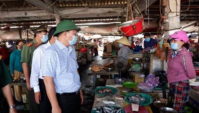 Quảng Nam: Khẩn cấp siết chặt công tác phòng, chống dịch Covid-19