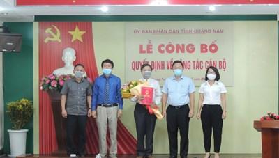 Quảng Nam: Sở Công Thương có tân Phó Giám đốc