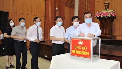 Quảng Nam ủng hộ tỉnh Bình Dương 500 triệu đồng phòng, chống dịch Covid-19