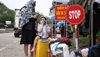 Từ 0h ngày 1/8, tạm dừng tiếp nhận công dân Quảng Ngãi về quê