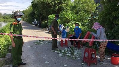 Quảng Nam: Phong tỏa 32 hộ dân ở khu vực có 2 ca mắc Covid-19