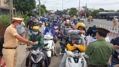 Quảng Nam lên kế hoạch đón người dân ở Đà Nẵng về quê