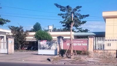 Phát hiện 2 F0 chưa rõ nguồn lây tại Bệnh viện Tâm thần Quảng Nam