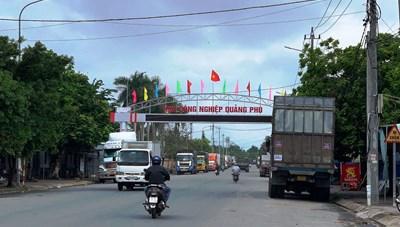 Quảng Ngãi: Phát hiện ổ dịch mới ở KCN Quảng Phú