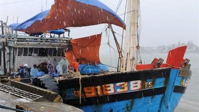 Quảng Nam: Khẩn cấp chống bão số 5