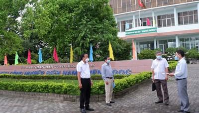 Quảng Nam: 8 gia đình có F0 liên quan đến ca bệnh ở công ty 10.000 công nhân