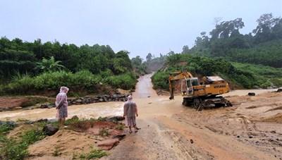 Quảng Nam: Tập trung khắc phục hậu quả bão số 5