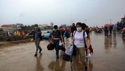 Quảng Ngãi: Đảo Lý Sơn sẵn sàng phòng, chống bão số 5