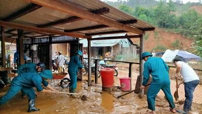 Quảng Nam: Tập trung khắc phục hậu quả mưa lũ
