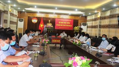 Tập huấn công tác Mặt trận Quảng Nam năm 2021