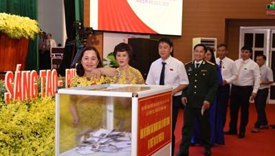 Quảng Ngãi: Họp phiên trù bị Đại hội đại biểu Đảng bộ tỉnh